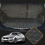 OREALTECH Kofferraummatte Auto für BMW 3 Series F30 F80 E93 E92 F34 F31 2013-2019 Allwetter XPE Leder Kofferraumwanne 3D All-Inclusive-Stil Schmutzfangmatte