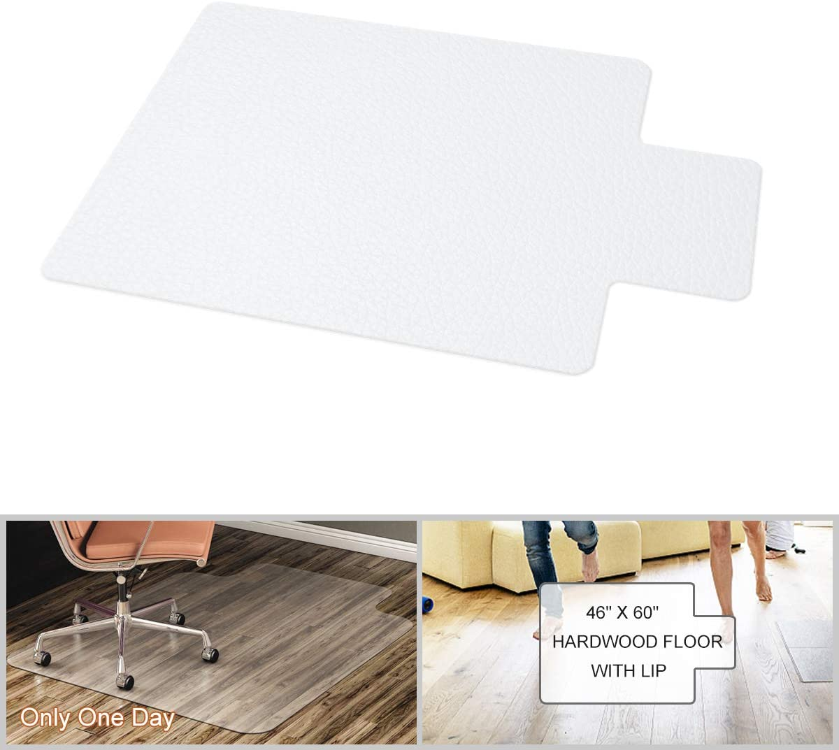 YOUKADA Office Chair Mat for Floor Protect Charlotte Mall Hardwood Max 40% OFF Tile