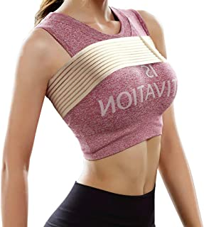 Luwint Bounce Breast Compression Band - Post Surgical Implant Stabilizer Strap Support Brace Bandage