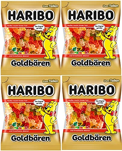 HARIBO ハリボー ゴールドベア 200g ×4 (2020年発売)