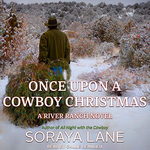 Once Upon a Cowboy Christmas audiobook cover art