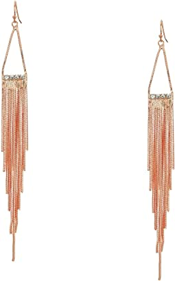 Hanger Fringe Earrings