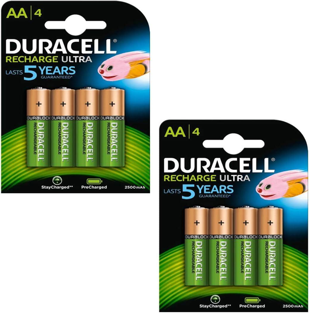 Duracell Duralock Akku Precharged 8 Stück Elektronik