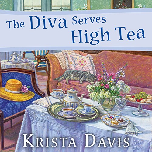 The Diva Serves High Tea audiobook cover art