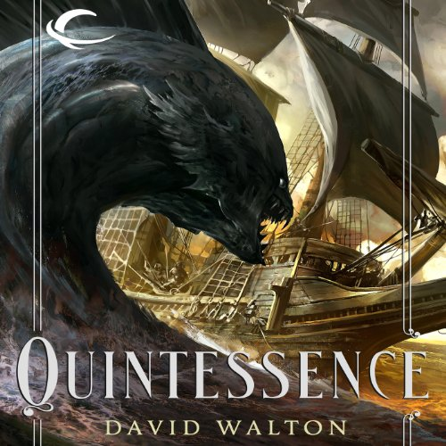 Quintessence audiobook cover art