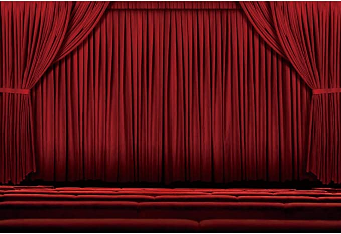 YouTube Photo Shooting Props DSFS656 Red Curtain Photography Backdrop Grand Opening Backgrounds 7x5ft Soft Cotton Party Decor Banner