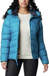 Columbia Women's Autumn Park Down Hooded Jacket, Fjord Blue, Medium