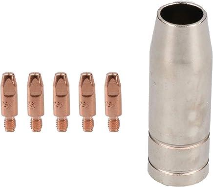 Lot de 35 lampe-torche /à souder 24 KD 0,8 mm 1,0 mm 1,2 mm MIG lampe de poche /à gaz Diffuseur de gaz pour machine /à souder MIG MAG 1.0mm 0.039in 24KD Consumables