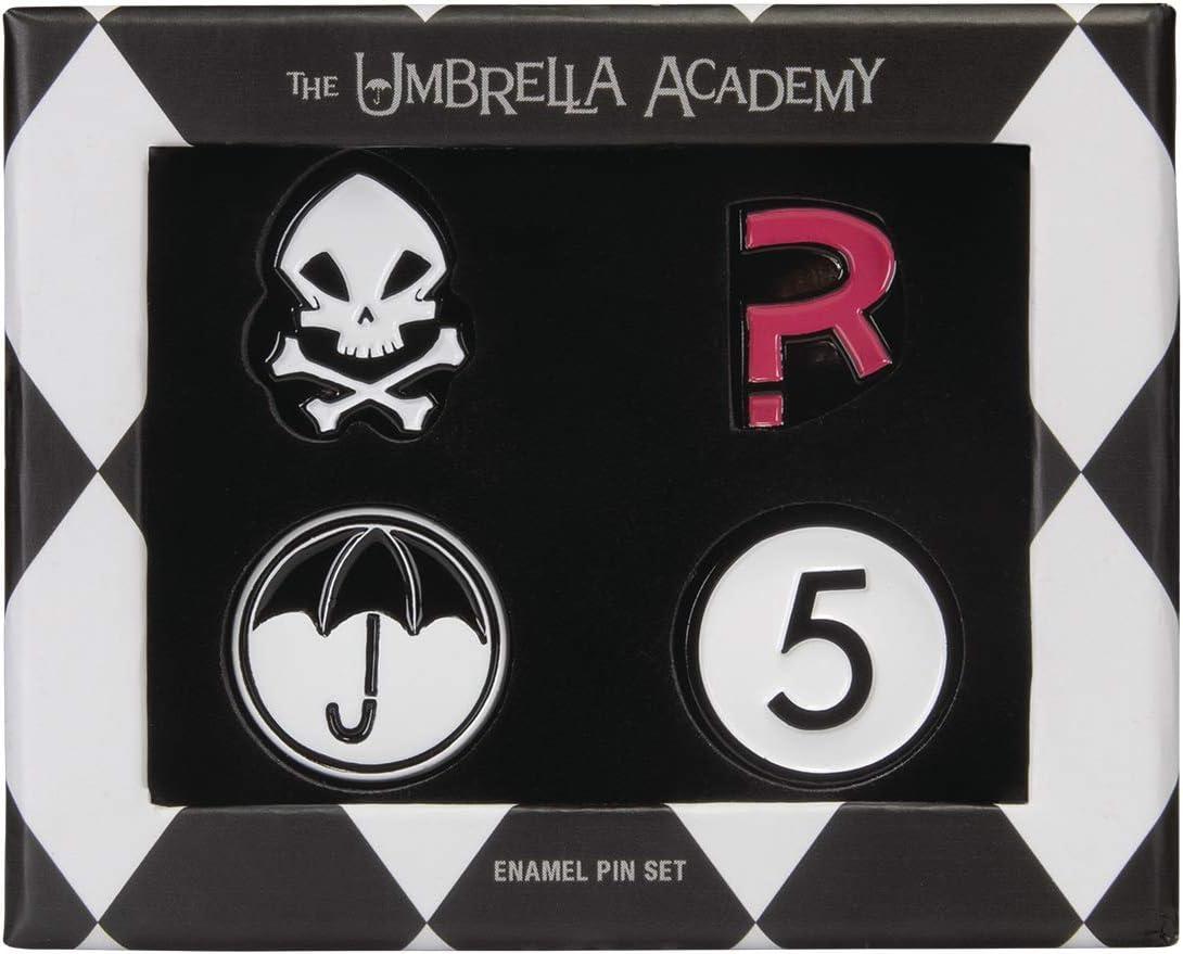 Max 43% OFF Dark Horse Award-winning store Deluxe The Umbrella Pin Multicolo Enamel Set Academy