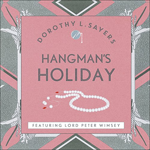 Hangman's Holiday audiobook cover art