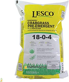 Lesco Fertilizer Plus Herbicide 18-0-4-50 lbs.