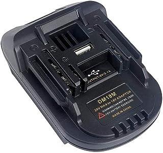 Sponsored Ad – DM18M Battery Adapter for Makita 18V 20V Power Tools, Adaptor Convert for Dewalt & for Milwaukee M18 Conver...