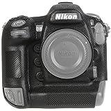 STSEETOP Nikon D5 Camera Housing Case, Professional Silicone Rubber Camera Case Cover Detachable Protective for Nikon D5 (Black)