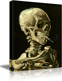 Wall26 -Skeleton by Vincent Van Gogh Painting - Canvas Art Wall Decor - 16
