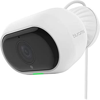 blurams Outdoor Pro, Security Camera Outdoor System 1080p FHD Outside w/ Two-Way Audio, Starlight Night Vision, Facial Recognition, Deterrent Alarm, Weatherproof, Cloud/Local Storage, Works with Alexa
