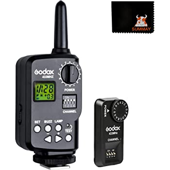 Godox Ft-16s Flash Trigger Remote Wireless Power Control 1x Transmitter 2x Receiver for Neewer Godox TT850 V860 etc Flash Speedlite