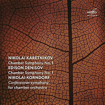 Karetnikov, Denisov, Korndorf: Chamber Symphonies