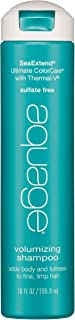 AQUAGE SeaExtend Volumizing Shampoo, Gentle, SeaExtend Thermal-V Technology Seals Heat..