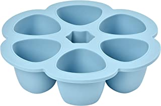 Beaba 912456 Multiportions Silicone, 6 X 150 Ml, Blue