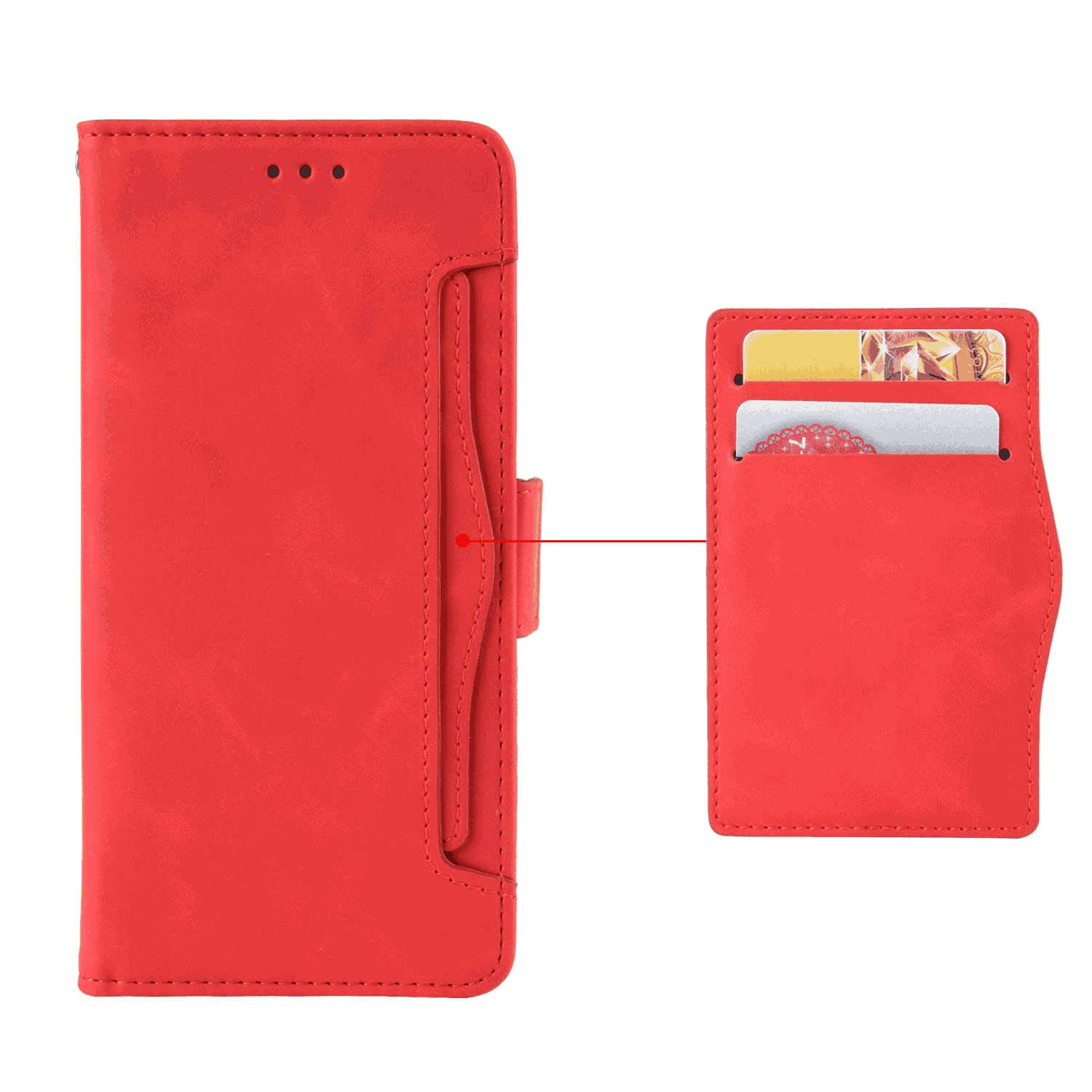 Cover for Samsung Galaxy S10E Leather Extra-Durable Business Card Holders Kickstand Wallet Cover with Free Waterproof-Bag Classical Samsung Galaxy S10E Flip Case