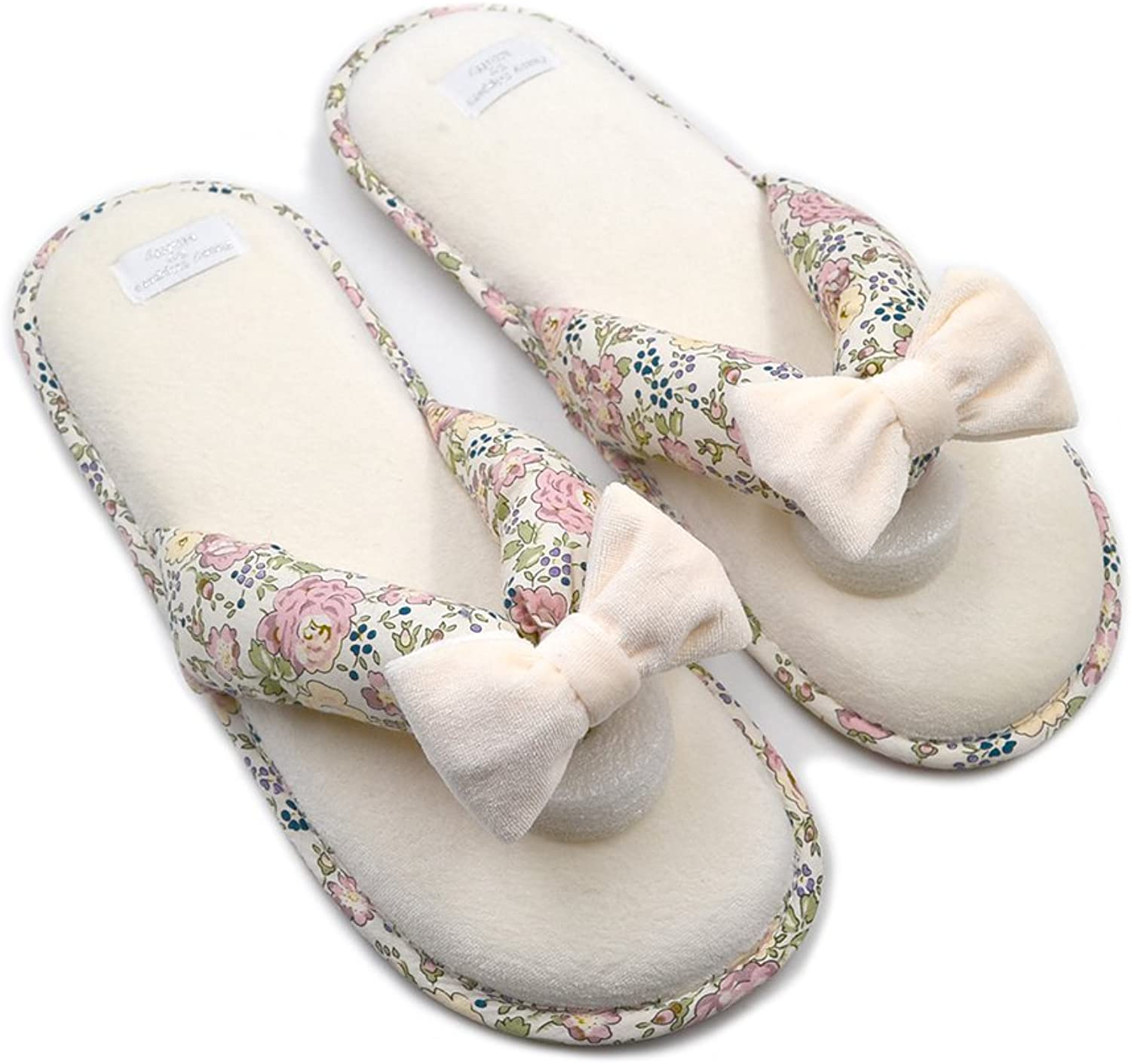 Millffy Memory Foam Cushioning Summer SPA Thong Slipper Japanese Floral Slippers