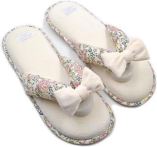 0149e7797ed Millffy Memory Foam Cushioning Summer Spa Thong Slipper Japanese Floral  Slippers