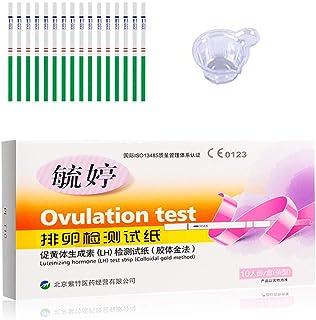 【第2類医薬品】高感度 20mIU LH排卵日予測検査薬 10本 + 尿カップ×10個. (10本)