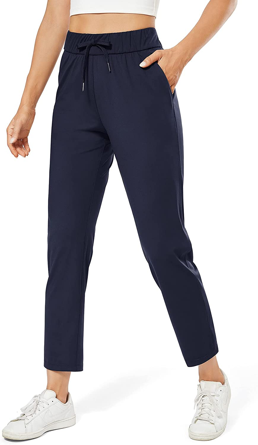 G4Free Womens Lounge Sweatpants Ankle Athletic Pants Nippon regular agency 70% OFF Outlet Pocket with