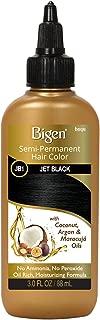 JB1 Jet Black Bigen Semi Permanent Hair Color (3 Pack)