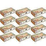 Humusziegel - 100 L Kokos Blumenerde - 12 x 600 g - Blumenerde aus Kokosfaser - natürlich & torffrei - geeignet als Palmenerde, Erde für Zimmerpflanzen, Chili Erde, Pflanzenerde