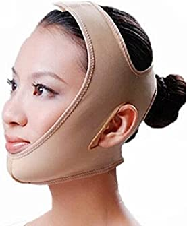 MELADY Fashion Full-Face Anti Wrinkle Face Slimming Cheek Mask Lift V Face Line Slim (M)