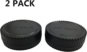 LXH (2 Pack) LC-NX Camera Front Body Cap & Rear Lens Cap Cover Set For Samsung NX Mount Lens & Samsung NX Series DSLR Cameras