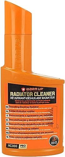 WARM UP RADIATOR CLEANER Détartrant Déshuillant Nettoyant Radiateur