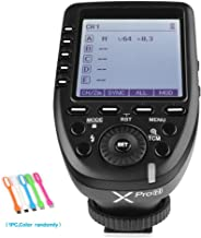 Godox XPro-N i-TTL 2.4G Wireless High Speed Sync 1/8000s X system Flash Trigger TransmitterCompatible for NikonCameras,11 Customizable,5 group button,4 function buttons offer convenient manipulation