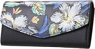 Womens Wallet, Fanspack Embroidered Leather Purse Shoulder Crossbody Bag Clutch Card Holder Bag