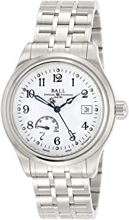 Ball Trainmaster Power Reserve Men's Watch NM1056D-S1J-WH