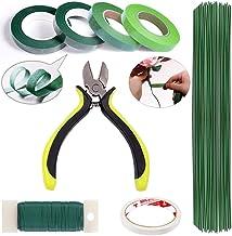 ZISUEX Floral Arrangement Kit Floral Tools Bouquet Stem Wrap Florist Wire Cutter Green..