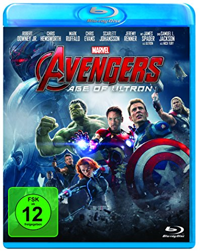 Marvel\'s The Avengers - Age of Ultron [Blu-ray]