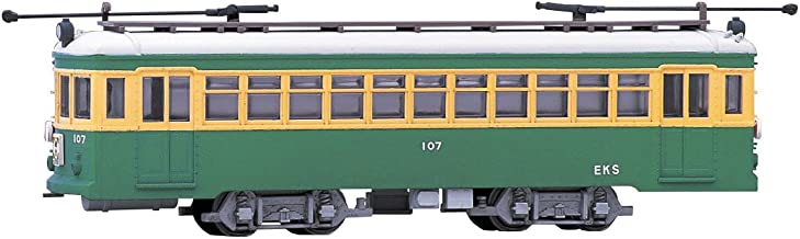Enoshima Electric Railway 100 Type Display Model (Unassembled Kit) (Model Train) Modemo EC2 Unassembled Kit HO Scale|1/80