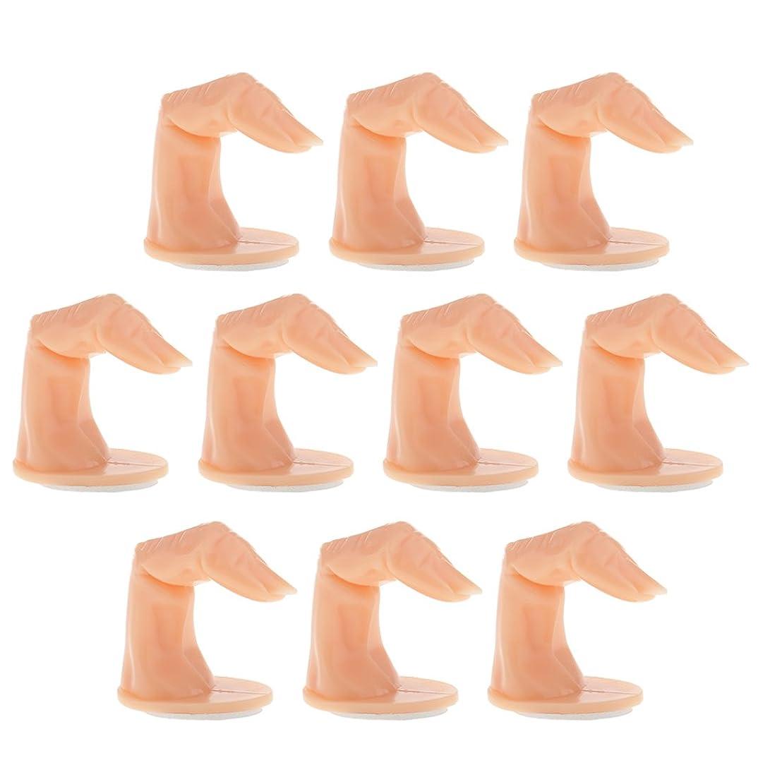 誰がパール成分CUTICATE 約10個 ロットプロ 爪の実践ハンドフィンガープラモデル 手マニキュアネイルアート 訓練初心者用