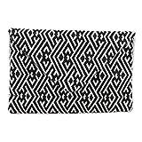 NOVICA Multicolor Cotton Convertible Clutch/Shoulder Bag, Directional Style'