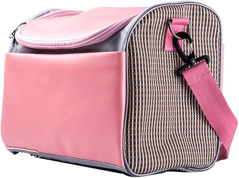 HLLZL Teddy Pet Bag Dog Out Hand Bag Portable Cat Dog Pet Backpack Comfortable Outdoor Pet Travel Bag