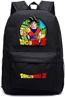 Mochila Dragon Ball Goku Anime Mochila Super Sai-YAN Mochila Escolar de Gran Capacidad para Estudiantes de Primaria y Secundaria