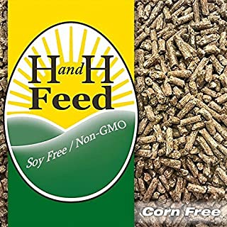 All Natural Premium Duck and Goose Feed Freshly Milled: Non-GMO, Soy Free, Corn Free, with Organic Fertrell Vitamins and M...