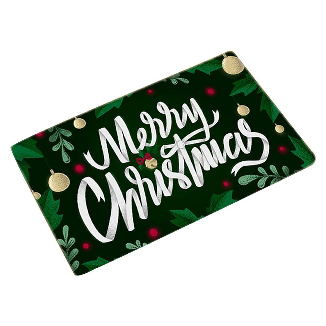 実用的苦難ラフトヨーロッパのカスタムホームパッド玄関マット北欧スリップマットノンスリップパターン豪華なクリスマスの玄関マット50×80センチ(スタイルの72種類)