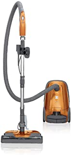 Best Kenmore 81214 200 Series Pet Friendly Lightweight Bagged Canister Vacuum with HEPA, 2 Motor System, and 3 Cleaning Tools, Orange Review