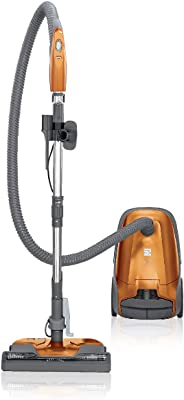 Kenmore 81214 200 Series Pet Friendly Lightweight Bagged Canister Vacuum with HEPA, 2 Motor System, and 3 Cleaning Tools, Orange