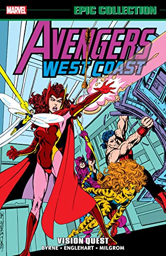 Avengers West Coast Epic Collection: Vision Quest (Avengers West Coast (1985-1994)) (English Edition)