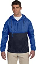 Harriton Packable Nylon Jacket>L ROYAL/NAVY M750