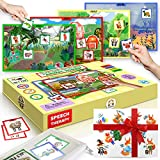 Wily Fox USA Sensory Busy Book Toys Autistic Children, Toddler Speech Therapy Activity Board Toys Montessori Educational Learning Toys, Autistic Toys Book, Montessori Toys for Toddlers (Speech Therapy